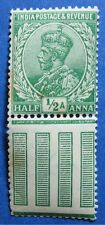1912 INDIA 1/2A SCOTT# 81 S.G.# 155 UNUSED NH   CS11114