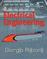 Principles and Applications of Electrical Engineering, by Rizzoni, 5th Edition