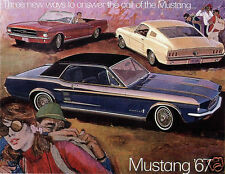 1967 Ford MUSTANG, Coupe, Convertible, Fastback, Refrigerator Magnet, 40 MIL