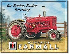 Farmall M Tractor Metal Sign     (de)