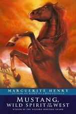 MUSTANG WILD SPIRIT OF THE WEST Marguerite Henry NEW children's chapter book pb