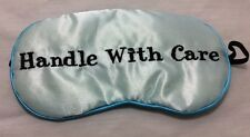 Mud Pie Embroidered Blue Eye Sleep Mask Stocking Stuffer / Bridal Shower Gift