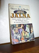 Jalna by Mazo de la Roche (Bantam #A1864, Dec. 1958,PB)
