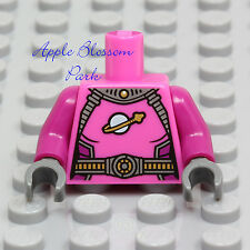 NEW Lego Female Dark PINK SHIRT MINIFIG TORSO Girl Space Intergalactic Suit Top