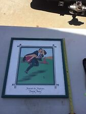 Mandrake The Magician Print by Royal art 1/25. Swept away  framed hand painted