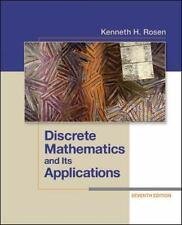 Free Express Ship -- Discrete Mathematics and Its Applications 7th Int'L Edition