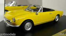 Vitesse 1/43 Scale 046B Fiat 124 BS1 Spider Sport Giallo diecast model car