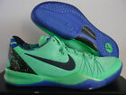 NIKE KOBE 8 VIII SYSTEM ELITE SUPERHERO POISON GREEN-BLUE SZ 17 [586156-300]