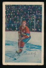 1952-53 Parkhurst Hockey #5 DICK GAMBLE (Montreal Canadiens)