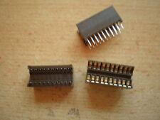 20 gold pin IC DIL burn in test socket    3pcs £10.00    Z541