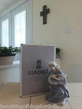 LLADRO NATIVITY VIRGIN MARY # 1387 OLD RARE SET MINT WITH BOX L@@K!! FAST SHIP!
