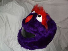 CRAZY CRASH HELMET COVERS MOTORCYCLE  COVER PURPLE  PEOPLE EATER