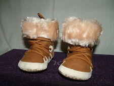 warm baby snow boots fleece lined 6-12months