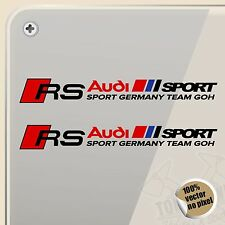 PEGATINA RS AUDI SPORT GERMANY TEAM VINYL STICKER DECAL AUFKLEBER AUTOCOLLANT
