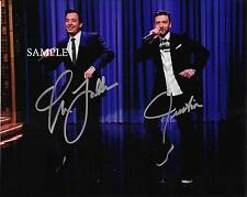 JIMMY FALLON JUSTIN TIMBERLAKE #1 REPRINT AUTOGRAPHED PHOTO PICTURE SIGNED 8X10