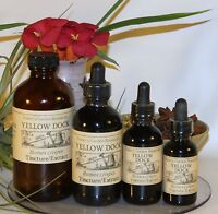 YELLOW DOCK Tincture Extract  ~ blood purifier ~  4sizes