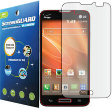 Clear LCD Screen Protector LG Optimus Exceed II 2 US450 US450PP / LG Realm LS620