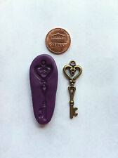 Key charm/pendant Flexible Silicone Push Mold for Polymer clay/ Resin/ Food