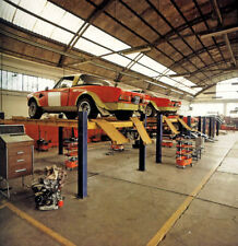 FIAT Abarth 124 Rally Sport Spider racing preparation at FIAT factory 1975 -1-