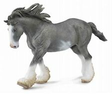 CollectA Clydesdale Stallion, Black Sabin Horse high quality toy figure replica