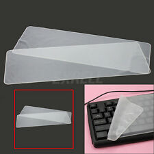 "2pcs Universal Soft Silicone Keyboard Skin Cover Protector For 17"" 15"" Laptop"