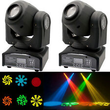 2PCS 30W RGBW LED Moving Head Stage Lighting DMX-512 DJ Disco XMAS Party Light