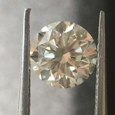 0.50 Carat Ct White Round  Diamond H-I Color VVS 0.50-0.59 Loose Certified