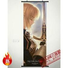 Coplay Home Decor Poster Wall Scroll 45*125CM Anime fate stay night SABER