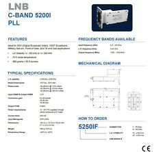 New Norsat 5250I, C Band PLL LNB