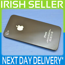 APPLE IPHONE 4S A1387 100% GENUINE BLACK BATTERY BACK COVER GLASS CASE
