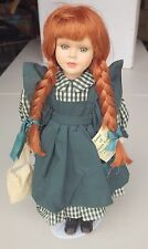 ANNE OF GREEN GABLES TREASURY EDITION PORCELAIN DOLL