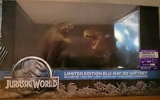 JURASSIC WORLD : LIMITED EDITION GIFTSET ( 3D / 2D  BLU RAY ALL REGION BOXSET)