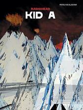 Radiohead: Kid A Piano/Vocal/Guitar-ExLibrary