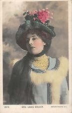 BR74386 mrs lewis waller  movie star edwardian actor   uk