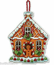 Dimensions Christmas Cross Stitch Kit Gingerbread House Ornament