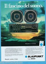 AIRONE983-PUBBLICITA'/ADVERTISING-1983- BLAUPUNKT - AUTORADIO ATLANTA SQR 22