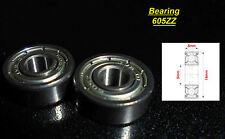 2 x Ball Bearing 605ZZ Roulement à Billes 5 x 14 x 5mm 605ZZ