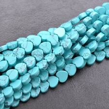 Wholesale Natural Gemstone Heart Spacer Loose Beads 10X10MM