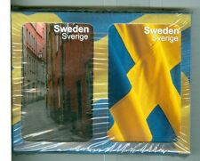 "Two Decks Non-Standard Playing Cards, ""Sweden"", by Finders Forum, Canada"