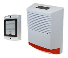 Solar Powered Dummy Alarm Siren with Flashing LED's & Dummy Alarm Keypad.
