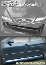 JDM Style Side Skirts (ABS) Fits 03-08 Mazda 6 Atenza 4/5dr