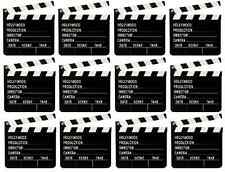 10 x Wooden Directors Clapperboard Clapper Board Film Movies Party Prop U09 059