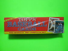 1988 COMPLETE SET TOPPS BASEBALL CARDS    MINTEST SET ON EBAY