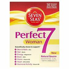 SEVEN SEAS PERFECT 7 WOMAN DUO PACK - 30 CAPSULES & 30 TABLETS