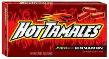 Hot Tamales Fierce Cinnamon Theatre box 141g Pack American Cinnamon Sweets