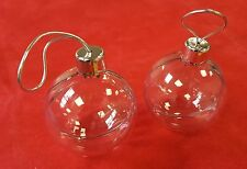 Festive Photo Baubles to create your own Christmas tree decorations