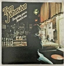 "Autographed Tom Johnston (Doobie Bros.) ""Everything You've Heard Is True"" Vinyl"