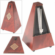 Wittner Wood Key Wound Metronome High Gloss Mahogany Finish 801