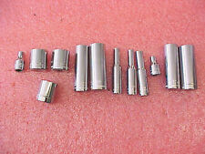 """F1 NEW 1/4"""" drive misc. sockets deep etc 12pc pcs Made in USA"""