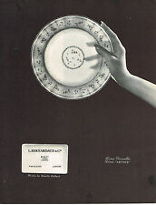 PUBLICITE ADVERTISING  1964   PORCELAINE BERNARDAUD  service ARTOIS